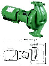 Taco 1634C Single Phase Circulating Pump by Taco