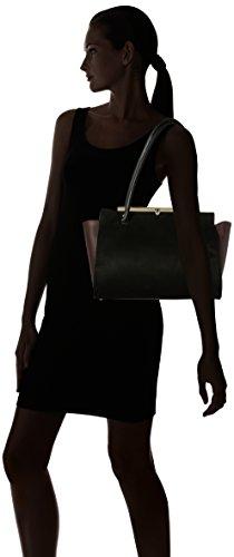 Dorothy Perkins Bar Top - Borse Tote Donna, Black, 42x26x17.5 cm (W x H L)