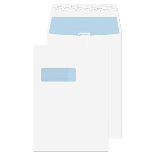 - Blake Premium Office Catalog Open End Expansion Window Envelopes, 9 x 12 3/4 x 1 Inches, Ultra White Wove, Security Tinted, Peel & Seal (37116-76) - Pack of 100