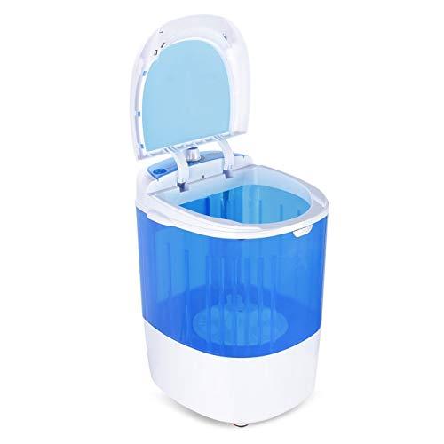 RCA NEW DELLA 6.6 lbs Load Capacity. Portable Washer, Blue