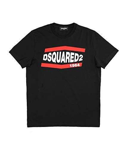 DSQUARED2 T-shirt Relax Nero Bambino Kids Boy Mod. DQ0150