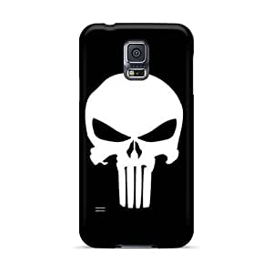 Scratch Protection Hard Cell-phone Case For Samsung Galaxy S5 (CPk4364RIWz) Provide Private Custom Trendy The Punisher Logo Pictures