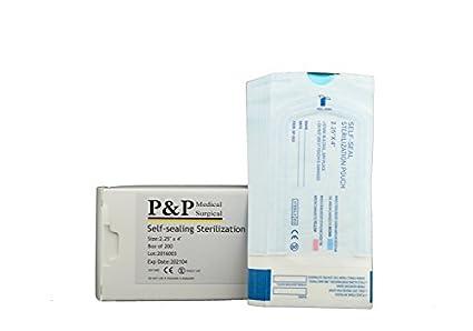 Con cierre autoadhesivo bolsas de esterilización tamaño: 2 ...