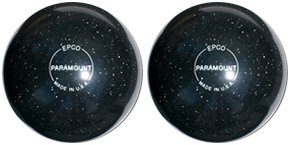 EPCO-Duckpin-Bowling-Ball-Speckled-Houseball-BlackBalls-2-Balls