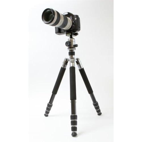 Dolica LX600B502DS  Ultra Premium Professional 60-Inch Lightweight Aluminum Alloy Tripod (Black)