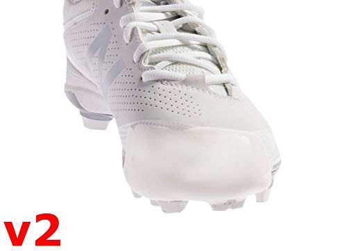 Tuff Toe Pro V2 Fastpitch (White) Softball Cleat Guard | Pitcher's Shoe ()