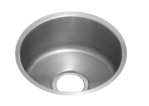 Elkay Lustertone ELUH16FB Single Bowl Undermount Stainless Steel ()