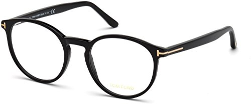 TOM FORD Eyeglasses FT5524 001 Shiny Black