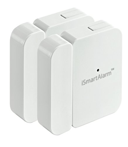 iSmartAlarm Wireless Contact Sensors (2-Pack) White DWS3