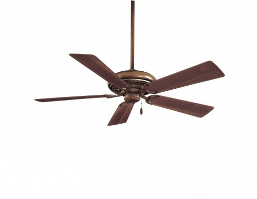 Belcaro Walnut Ceiling Fan - Minka-Aire F568-BCW, Supra, 52