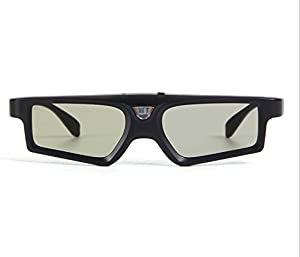 Rechargeable RF/Bluetooth 3D Glasses. Compatible with Sony TDG-BT400A,TDG-BT500A and Any Bluetooth Glasses and tv's