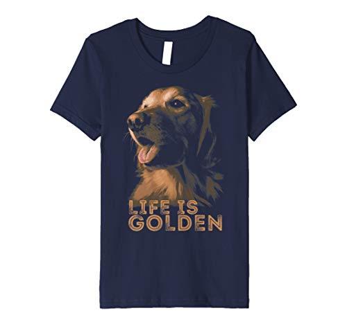 Life is Golden Retriever Dog T-Shirt