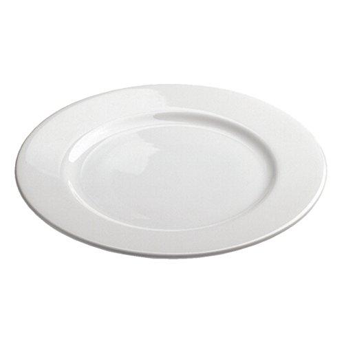 Revol French Classique White Porcelain 7.5 Inch Alaska Dessert Plate, Set of 6