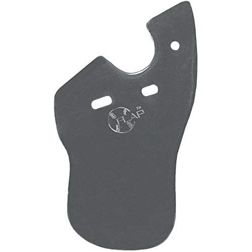 Markwort C-Flap Jaw and Cheek Protection for Right Handed Batter - Graphite