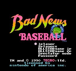 Bad News Baseball