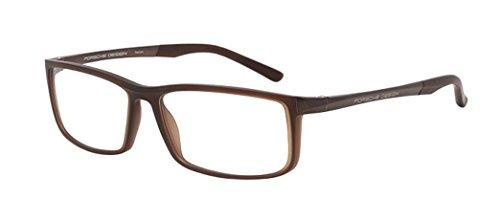 NEW Porsche Design P 8228 B Brown Eyeglasses