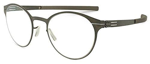 ( アイシーベルリン ) ic!berlin メガネ crossley 眼鏡 graphite ボストン メンズ 男性用【並行輸入品】 B076MQGJ6M