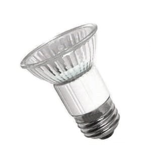 Anyray® A1863E 50 Watt JDR 120 Volt Halogen 50W E27 Medium Screw 50Watt Clear MR16 shape E26 (Medium Mr16 Screw)