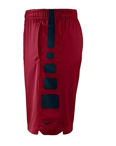 Nike Boys Elite Basketball Short (Red/Black, Small) (Shorts Boy For Men)