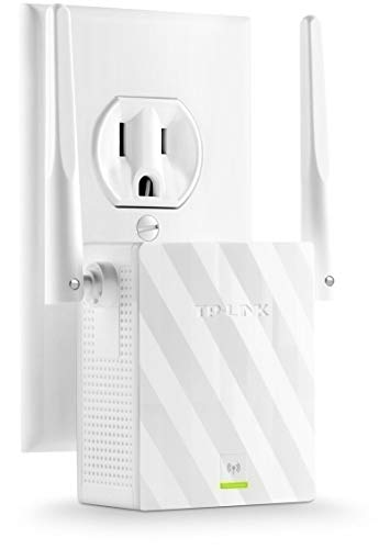 TP-Link N300 WiFi Range Extender with External Antennas and Compact Design (TL-WA855RE) (Camera Network Fixed Wired)