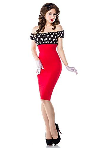 Astuccio Rouge Donna Basic Noir 69fashion Vestito v4q5HH