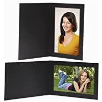 4x6 Timeless Black Photo Folder - 100 pack
