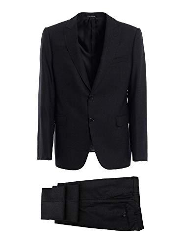 (Emporio Armani Men's 11Vmgb11606632 Grey Wool Suit)