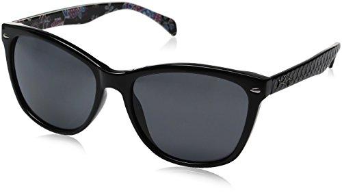 Vera Bradley Women's Faye Wayfarer Sunglasses, Alpine Floral, 59 - Sunglasses Alpina