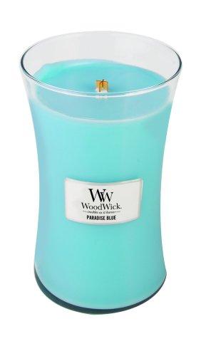 WoodWick Candle, Paradise Blue, Large