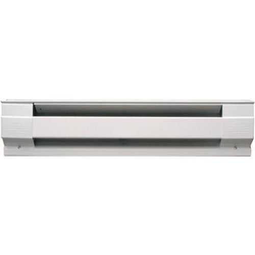 Cadet Manufacturing 09956 240-Volt White Baseboard Hardwire Electric Zone Heater, 1500-Watt, 72-Inch 240v Electric Baseboard Heater