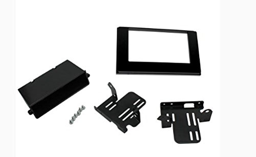 SCOSCHE TA2121B 2016-Up Toyota Tacoma with a Premium Stereo ONLY Single or Double DIN Stereo in-Dash Installation Kit with Pocket