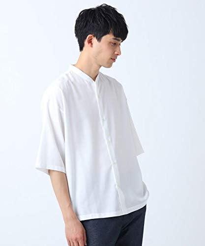 [ ティーケー タケオキクチ ] カジュアルシャツ TRバンドカラーシャツ(5分袖) 17088506 メンズ