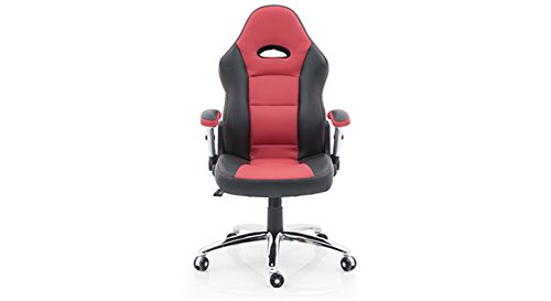 Urban Ladder Mika High Back Study-Office Computer Chair (Scarlet Red)