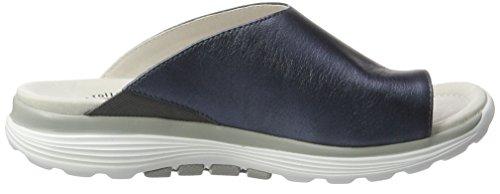 Gabor Shoes Rollingsoft, Sandalias para Mujer Azul (ocean 66)