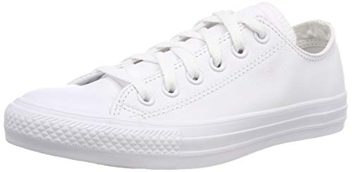 Converse Men Chuck Taylor All Star Leather Low Top Sneaker White