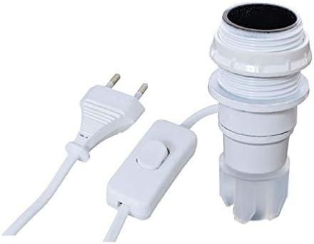 NOUVEAU jandorf Bouteille Adaptateur Lampe Kit Blanc 60131