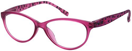 Edge I-Wear Cat Eye Style Readers with Spring Hinge for Stylish Women - Shape Frames Face Eye Cat