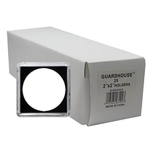 (Guardhouse Tetra Snaplocks for SILVER EAGLES Pack of 25)