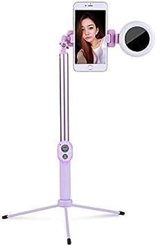 Trípode Extensible de 1,7 m para Selfie, luz LED, Soporte de ...