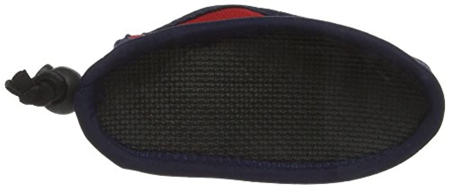 Splash About Kids Splash Swimming and Beach Shoes - Soft Sole - Navy/Red, 12 cm