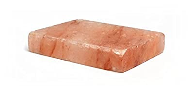 "HemingWeigh Himalayan All Natural Crystal Salt Cooking Tile (12"" X 8"" X 2"") by HemingWeigh"