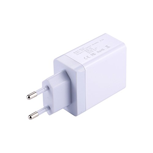 Ocamo USB C PD Charger 29W Power Delivery Type c Wall Charger with 2 Ports for iPhone Android European regulations white
