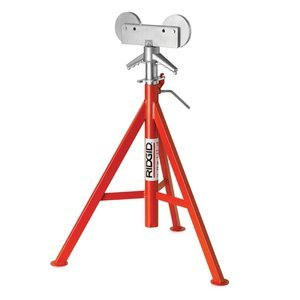 Ridgid 56667 RJ-98 Roller Head Low Pipe Stand 23-Inch-41-Inch Height Adjustment by North Coast Electric