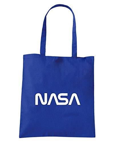 Borsa Shopper Royal Blu FUN0083 NASA
