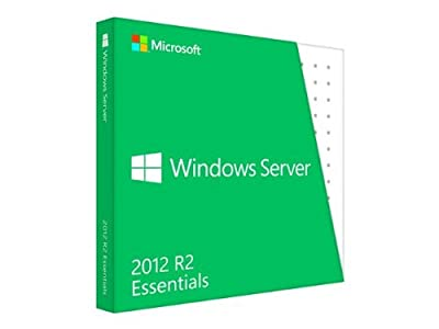 Microsoft Windows Server 2012 R2 Essentials - License and media - 1 server (1-2 CPU), up to 25 use *