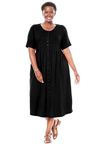 Empire Knit Dress - 3
