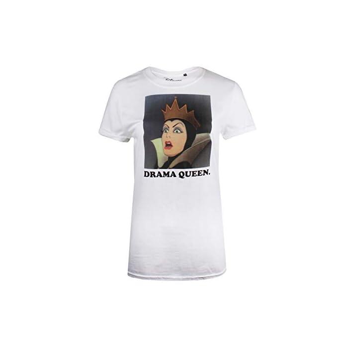 31jLd5eHeBL Producto oficial de Disney. Estilo: camiseta de corte regular para mujer. 100% Algodón