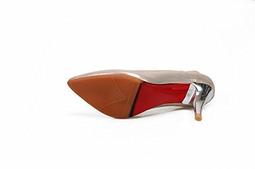 Femme BalaMasa Matière Shoes Crack Doré Pumps à Enfiler Burst Souple UvfSvgwq