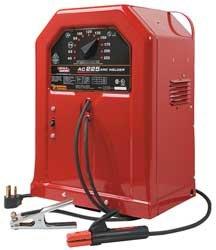 Stick Welder, 40-225 AC, 230 V, 50 A, OCV 79