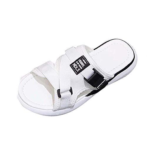 LIM&Shop Women Flip Flops Slide Slippers - Sport Comfortable Home Beach Walking Light Weight Slide Sandals Outdoor Shoes White